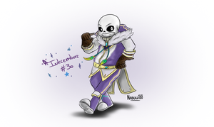 Inkcember 30 - Zephyr!Sans by Nabuco88