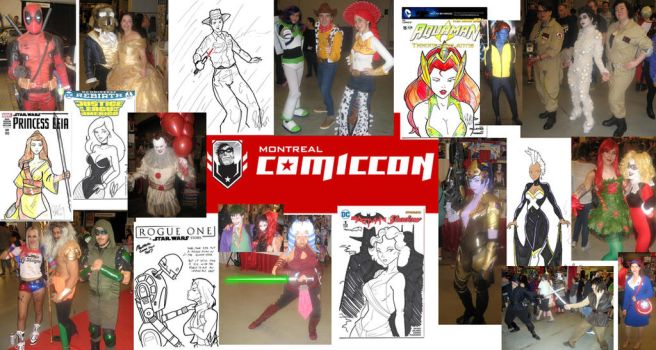 Montreal Comic Con 2017 Report by Inspector97