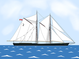 The Bluenose by Oceanlinerorca