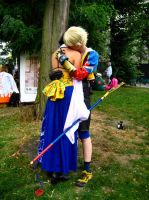 Tidus Yuna - Be strong by Unruhestifter