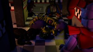 [C4D - FNAF] I thought you were the strongest by christianzc