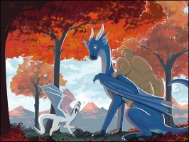 Fall Backpacking by Chromamancer