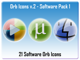 Orb Icons v.2 - Software 01 by AndrewBadger