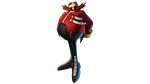 Dr.Eggman 3D Render by TheAntitoxic