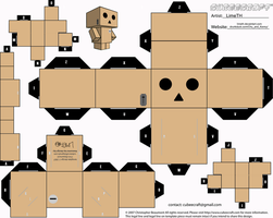 Danbo Cubeecraft by LimeTH