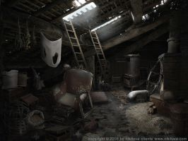 Sleepy Hollow. Attic by Katie-Watersell
