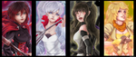 RWBY- Anticipation by BloodyRosalia