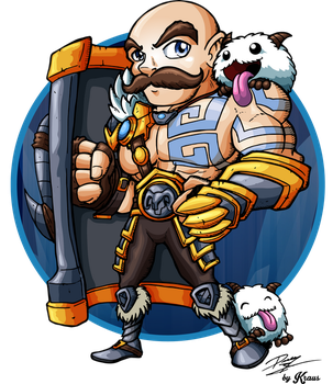 Braum by Kraus-Illustration