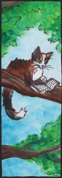 Bookmark #10 - Treetail by NoreyDragon
