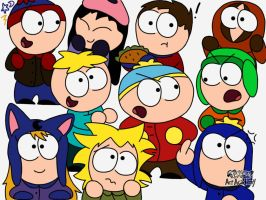 South Park Doodle by star-nomad