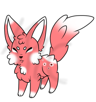 -Adoptable- Chubby Fluffy Fox -25 pts- -CLOSED- by auqustfire