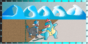 See Rock and Water Types Can Get Along by PokeLoveroftheWorld