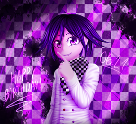 Happy Birthday - Ouma Kokichi by Byutak