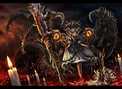 Belial - Child of Abyss by Maxa-art