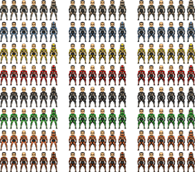 U.S. Clone Troopers Army Templates by Legodecalsmaker961