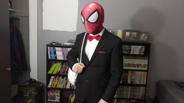 Wedding Crasher Spidey - Cosplay by HulktySSJ2