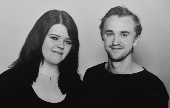 Tom Felton and me by JessMindless