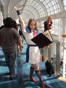 Charlotte Aulin:: Anime Expo by CapcomQueen