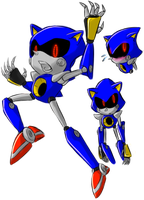 Metal Sonic Teaser/Practice by chibikn1ght