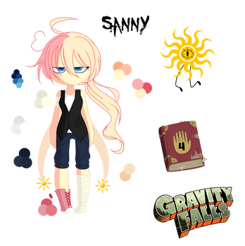 + Gravity Fall New Oc + Sanny by girlpowergeneration