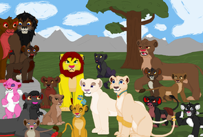 Lion King Roleplay characters by TLK-Peachii