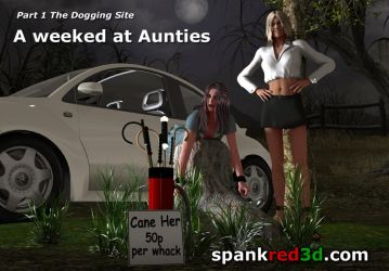 Weekend At Aunties by SpankRed