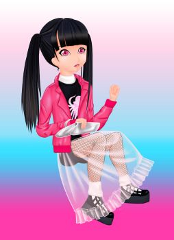 Rinyo in Pink by superstarhollyann