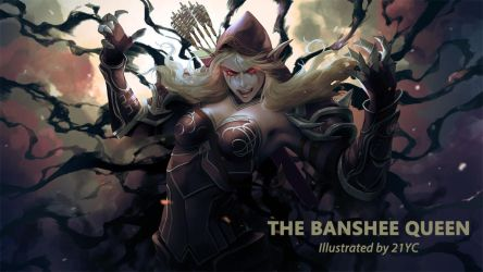 The Banshee Queen by 21YC