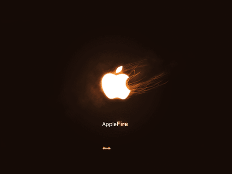 Apple On Fire by yanomami
