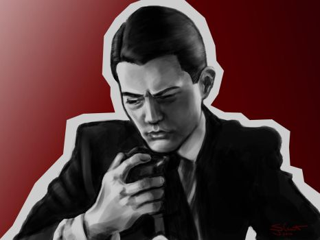 Digital Study: Agent Dale Cooper by TabathaZee