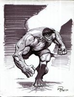 Hulk Commission by Roger-Robinson