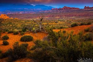 Sunset In Arches by kkart