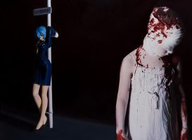 The Disasters of War 6 by gottfriedhelnwein