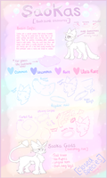 [CLOSED SPECIES] Saoka Reference Sheet by BlushingEevee