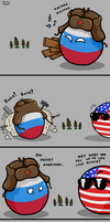 Lonely Russiaball by 1gga