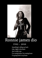 Ronnie james dio by Lordstevie