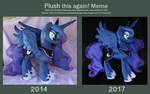 Plush this again: Princess Luna by Nazegoreng