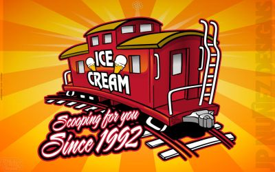 Caboose Ice Cream Shop by jpnunezdesigns