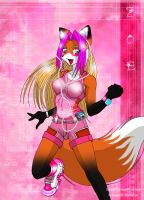 Happy Foxxie Zoe by Foxxie-Angel