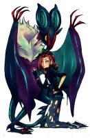 Trainer and Noivern