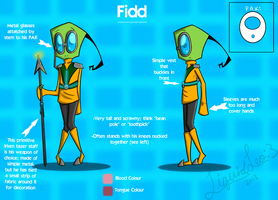Fidd: Official Reference Sheet by LiquidLeo