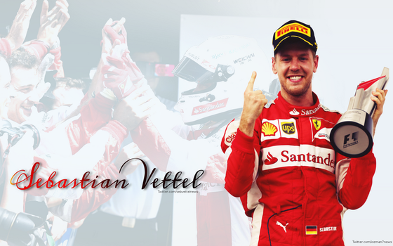 Sebastian Vettel Wallpaper by KRaikkonen7