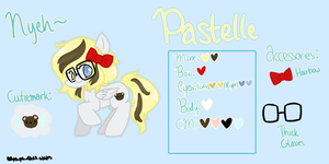 Pastelle Official Reference Sheet by nekopew