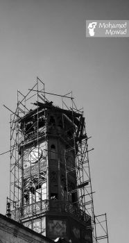 THE Old Clock by Mohamed-Mowad