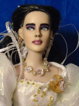 Closeup of  Repaint-Jennifer Connelly in Labyrinth by R-Marie