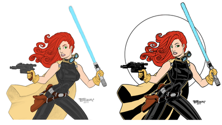 Dye-cember Challenge 22 - Mara Jade by RBL-M1A2Tanker