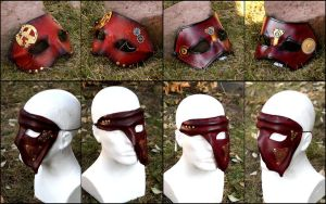 Steampunk mask by akinra-workshop
