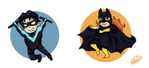 Batman Minis Set 2 by soccercat4685