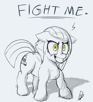 Limestone Ready To Brawl by baratus93