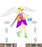 Jennifer of Valkyrie (Puzzle and Dragons update) by JenniferLee1991